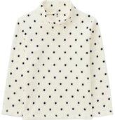 Uniqlo Girls Micro Fleece Printed High-Neck T-Shirt