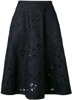 Aspesi embroidered skirt - women - Cotton/Polyester - 40