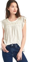 Gap Embroidery flutter top