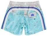Sundek Photo Print X Bernhard Lang Swim Shorts