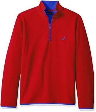 Nautica Men's Basic Nautex Half-Zip Sweatshirt