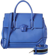 Versace Palazzo Large Empire Leather Satchel