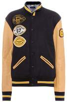Polo Ralph Lauren Leather and wool varsity jacket
