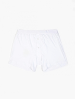 Comme Des Garcons Shirt Cdg Shirt X Sunspel White Cotton Trunks