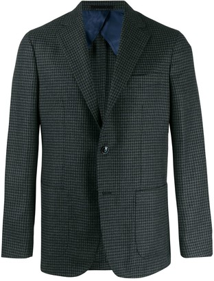 Barba classic single-breasted blazer