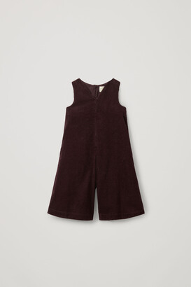 Cos Sleeveless Corduroy Cotton Jumpsuit