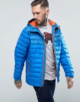 Columbia Powder Lite Quilt Jacket Hooded 2 Tone