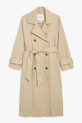 Monki Classic trench coat