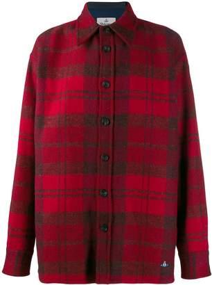 Vivienne Westwood plaid shirt jacket