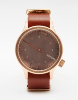 Komono The One Watch In Brown