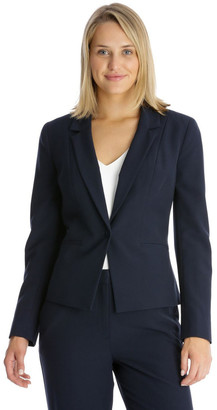 Basque Essential One Button Suit Jacket