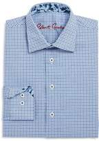 Robert Graham Boys' Square Geo Print Dress Shirt - Big Kid