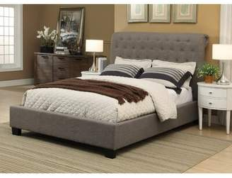 Modus Designs Furniture Beverly Queen Upholstered Sleigh Bed Furniture