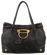 Dolce & Gabbana D-Ring Leather Tote