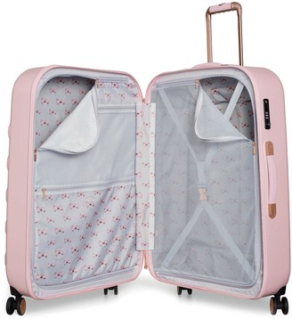Ted Baker BEAU Pink 4 Wheel Large Case