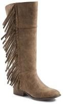 Steve Madden Girl's Jtarli Fringe Boot