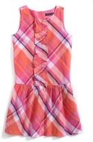 Tommy Hilfiger Final Sale- Sleeveless Plaid Dress