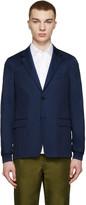 Kenzo Navy Cotton Classic Blazer