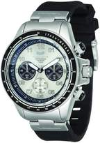 Vestal Men's ZR2CS01 ZR-2 Rubber Chrono Case with Black Silicone Watch