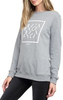 RVCA Women's Type Box Fleece Pullover