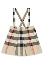 Burberry Baby's and Toddler Girl's Sofia Cotton Suspender Skirt
