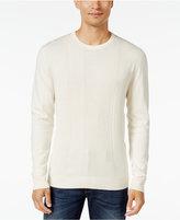 Alfani Men's Regular Fit Texture Sweater, Only at Macy's