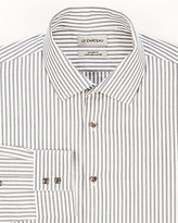 Le Château Stripe Cotton Tailored Fit Shirt
