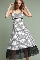 Tracy Reese Liane Flounced Midi Dress
