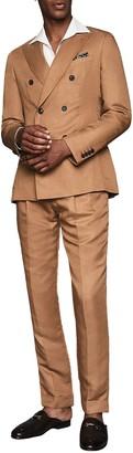 Reiss Alabama Peak Collar Double Breasted Jacket