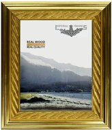 Imperial Frames 8 by 10-Inch/10 by 8-Inch Picture/Photo/Certificate Frame, Bright with Thick Rope Design