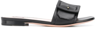 Bally Buckle-Strap Slides
