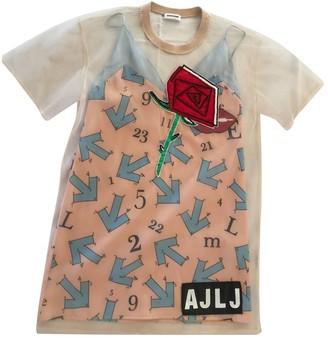 Au Jour Le Jour Multicolour Silk Dress for Women