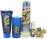 Christian Audigier Love & Luck Gift Set for Men (EDT Spray + Body Wash + Deodorant + Mini EDT + Key Chain)