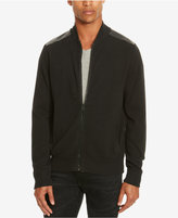 Kenneth Cole Reaction Men's Mixed-Media Sweater-Jacket