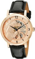 Stuhrling Original Men's 804.05 Legacy Analog Display Automatic Self Wind Black Watch