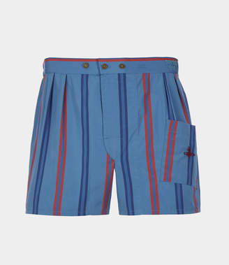 Vivienne Westwood We Boxer Shorts Night Stripes Multi
