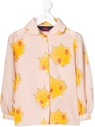 The Animals Observatory All-Over Print Blouse