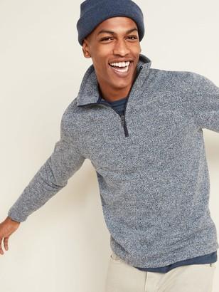 Old Navy Sweater-Fleece Mock-Neck 1/4-Zip Sweatshirt