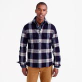 J.Crew Wallace & Barnes guide shirt-jacket in English wool