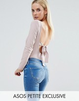 Asos Body With Bow Back