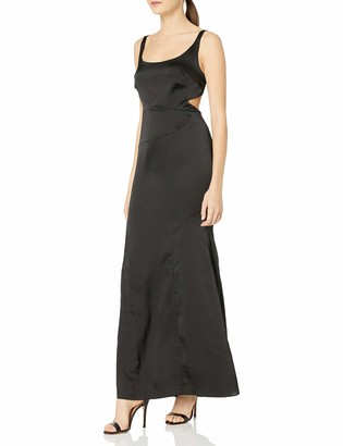 Finders Keepers findersKEEPERS Women's Evangeline Sleeveless Cut-Out Maxi Gown Dress
