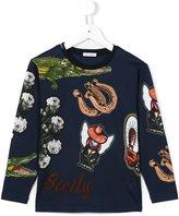 Dolce & Gabbana Sicily print long sleeve T-shirt