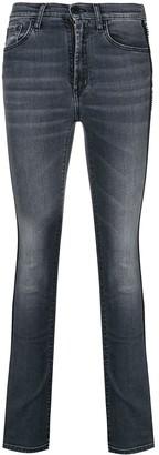 Marcelo Burlon County of Milan high rise skinny jeans