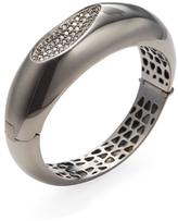 Roberto Coin Silver & 0.75 Total Ct. Diamond Capri Bangle Bracelet