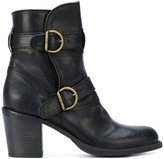 Fiorentini+Baker heeled buckle boots