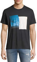 7 For All Mankind Past Present Future Graphic T-Shirt