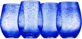 Artland Iris Set Of Four 18Oz Stemless Glasses