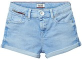 Tommy Hilfiger Final Sale-Th Kids Girlfriend Denim Short
