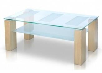 Brayden Studio Alyson Glass Top Coffee Table