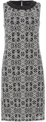 Roman Originals Embroidered Lace Shift Dress